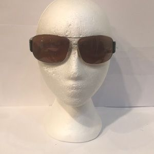 Prada Rectangle Black Sunglasses.SPR61G 67-13. RX